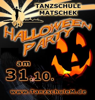 Halloween Tanzparty in der Tanzschule Matschek