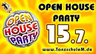 OPEN HOUSE Tanzparty der Tanzschule Matschek
