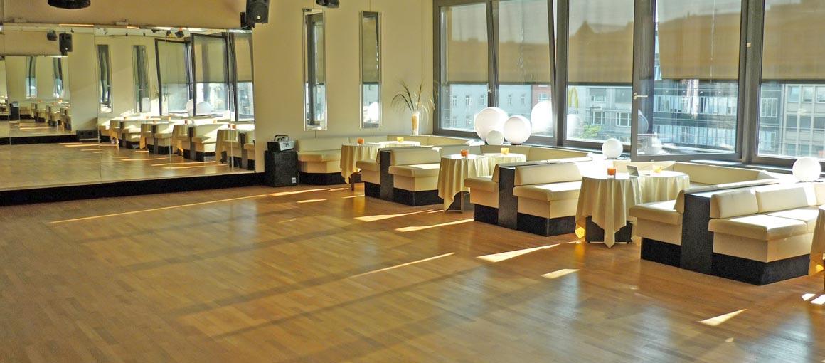 Tanzschule Tanzsaal