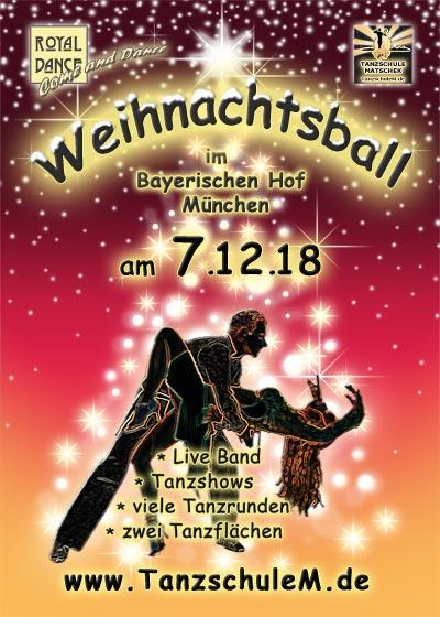 Der festliche Weihnachtsball der Tanzschule Matschek
