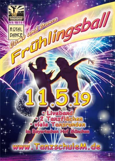 Tanzschule Matschek Frühlingsball Vorschau 2019