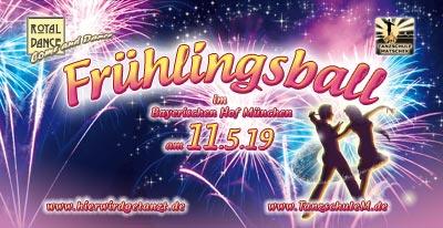 Frühlingsball 2019 Tanzschule Matschek Bayerischer Hof München