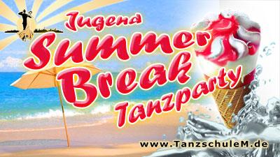 Summerbreak Tanzparty zu Ferienbeginn in der Tanzschule Matschek