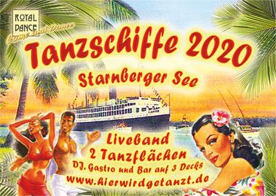 ROYALDANCE Tanzevents Tanzschiffe 2020